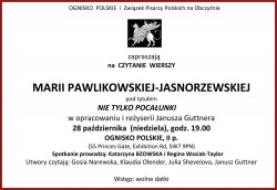 czytanie pawlikowsiej jasnorzewskiej